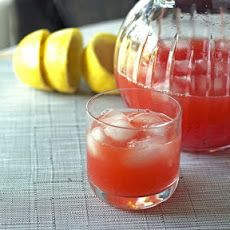 Real Strawberry Lemonade-strawberries, lemonade, rum or frozen baccardi rum mixer?
