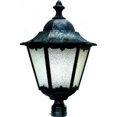 Cambridge Embrey 1-Light Outdoor Verde Post Mount