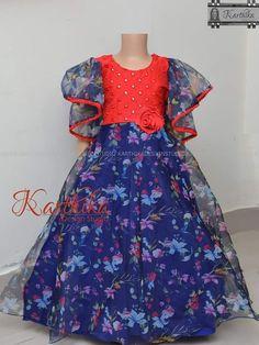 Best of kids fashion Girls Frock Design, Kids Frocks Design, Baby Frocks Designs, Baby Dress Design, Kids Dress Wear, Kids Gown, Baby Girl Party Dresses, Dresses Kids Girl, Kids Lehenga