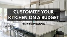 Customize Your Kitchen on a Budget Twin Boys, Kitchen On A Budget, Budgeting, Wonderland, Home Decor, Toddler Twins, Decoration Home, Room Decor, Budget Organization