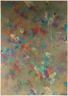 Linda Symonds - 'Cacophony' Large Abstract | 1stdibs.com
