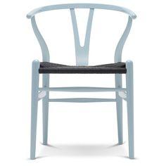 Carl Hansen CH24 Wishbone stoel Colours Black Paper Cord. Net even anders en in talloze kleuren verkrijgbaar! #CarlHansen #stoelen #stoel #design #Flinders