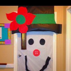 Snowman door!!