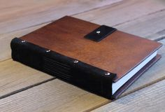 Photo Album Printing, Notebook Covers, Family Camping, Wood Wood, Book Making, Made Of Wood, Handmade Wooden, Black Suede, Diy And Crafts