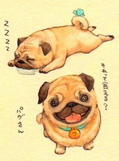 PUGGS ARE FRICKIN' ADORABLE!! :)