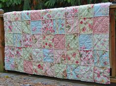 shabby chic quilt....I think I can