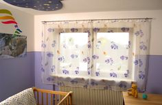 Edelstahl Vorhangstangen im Kinderzimmer. Valance Curtains, Design, Home Decor, Room Interior Design, Sheer Curtains, Stainless Steel, Ad Home, Decoration Home, Room Decor