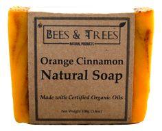 Bees & Trees - Orange Cinnamon Natural Soap