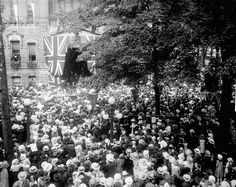 At City Hall in Ottawa, Ontario, during royal visit of the Prince of Wales to Canada, September 1919 / Le prince de Galles à l'hôtel de ville d'Ottawa, Ontario, lors de sa visite au Canada, septembre 1919 | by BiblioArchives / LibraryArchives