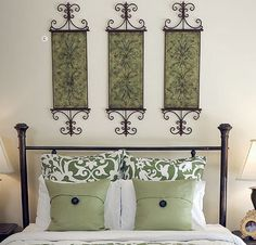 Southern Living at Home: Guest Bedroom | According to Nina  Pavilion Wall Art
