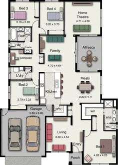 Awesome family home floorplan. Jamieson 285 by Hotondo Homes