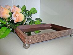 Bandeja para lavabo e decoração | Madrinha Arteira | Elo7