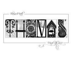 Items similar to Custom Photo Name Art - Alphabet Photo Letter Art - Letter Photo Print on Etsy Alphabet Photos, Alphabet Art, Letter Art, Photo Letters, Diy Letters, Letters And Numbers, Alphabet Photography, Love Photography, Photo Name Art