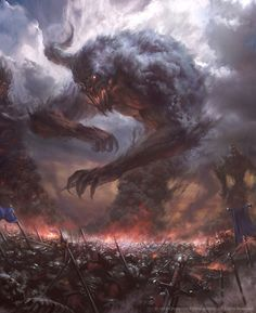 Horrors of War – concept by Billy Christian for HEX MMO TCG
