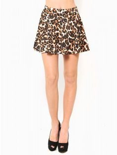 #Styles For Less          #Skirt                    #LEOPARD #SKATER #SKIRT #JUST #ARRIVED              LEOPARD SKATER SKIRT - JUST ARRIVED                                           http://www.seapai.com/product.aspx?PID=403226