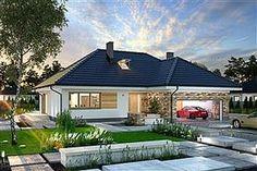 Projekt domu Padme Bedroom House Plans, Design Case, House Design, Outdoor Decor, Mica, Home Decor, Country Houses, Decoration Home, Interior Design