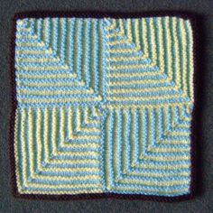 Mitred Squares - shadow box patter
