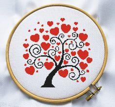 Love bird Сross stitch pattern Instant by MagicCrossStitch on Etsy