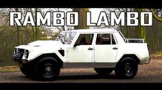 LAMBORGHINI LM002 1988 - Test drive in top gear - V12 Engine sound | SCC TV