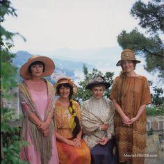 Enchanted April  - Promo shot of Miranda Richardson, Joan Plowright, Polly Walker & Josie Lawrence