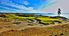 nice 15 At Chambers Bay Golf Course Location Of The 2015 Us Open 2014 Famous Golf Courses, Public Golf Courses, Golf Fotografie, Golf Cart Parts, Golf Gps Watch, Golf Apps, Augusta Golf, Golf Pride Grips, Golf Course Reviews