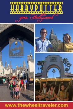 How do you celebrate 20 years of Harry Potter wizardry? With a visit to Hogsmeade at Universal Hollywood! This wheelchair friendly theme park makes it easy to get around, even if you've had one too many butterbeers :)