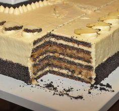 Ország Tortája 2012- téglalap Tiramisu, Sweet Life, Healthy Snacks, Food To Make, Food And Drink, Sweets, Cookies, Cake, Ethnic Recipes