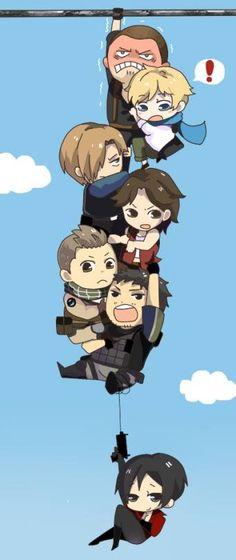 Resident Evil Video Game, Resident Evil Anime, Resident Evil Girl, Resident Evil Damnation, Resident Evil Outbreak, Evil Meme, Vegito Y Gogeta, Leon S Kennedy, Evil Art