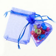 Find More Packaging Bags Information about 9*12cm 100pcs blue gift bags for jewelry/wedding/christmas/birthday Yarn bag with handles Packaging Organza Bags,High Quality bag pet,China bags hats Suppliers, Cheap bag milk from Playful beauty department store on Aliexpress.com