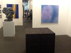 L-R Works by Tony Cragg, Ai Weiwei and Shirazeh Houshiary at Lisson Gallery's stand at Art Basel Lisson Gallery, Ai Weiwei, Basel, Contemporary Art, Modern Art, Contemporary Artwork