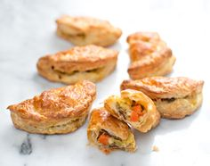 BACON CHEDDAR LEEK AND CARROT HAND PIES
