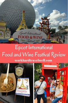 Disney Epcot Food and Wine Festival Tips - Work Hard Travel Well Usa Travel Guide, Travel Usa, Travel Tips, Disney Travel, Disney Tips, Walt Disney, Disney Parks, Beautiful Places In Usa, Visit Jamaica
