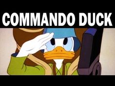 ▶ Commando Duck: Donald Duck Against the Japanese | 1944 | WW2 Animated Propaganda Film by Walt Disney - YouTube