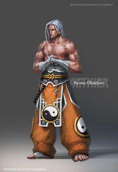 Aethier - Ryuku by dinmoney.deviantart.com on @deviantART
