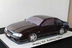 Black Nissan Car Tutorial - Cake by Paul Delaney of Delaneys cakes