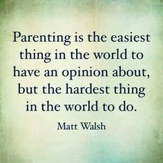 Parenting...YOU MUST READ THIS GUY'S BLOG.  HE HAS SUCH AWESOME INSIGHT INTO LIFE AND FAMILIES