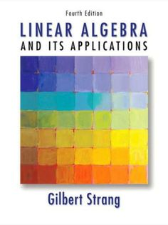 I'm selling Linear Algebra and Its Applications, 4th Edition by Gilbert Strang - $25.00 #onselz