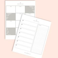 This meal planner is a simplistic template is helpful and non-intimidating plus the shopping list template helps you to focus on planning healthy weekly meals. When you can look to the week ahead and see how and what you'll be eating, it's easier to follow your plan and honor your body with healthy eating. Meal Planner Template, List Template, Templates, Jewish Crafts, Weekly Meals, Meals For The Week, To Focus, Healthy Eating, How To Plan