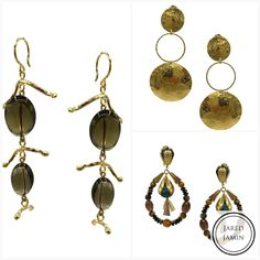 Organic chic is avail well into next year, so swing into the Bling of 2019!    #bling #accessories #fashionjewelry #jewelryaddict #jewelrydesigner #jewelery #jewelrygram #jewellerydesign #jewelrylover #jewellery #earringsoftheday #earrings #earringaddict #earringlove #streetstyle #18kgoldplated #giftideas #instajewelry #jewelryoftheday #jewelryforsale #fashion #handmadejewelry #style #fashionkilla #fashionista #emergingdesigner #12daysofchristmas #goldplatedjewelry #bijouxfantaisie… Jewelry Accessories, Jewelry Design, Semi Precious Gemstones, Hippie Style, Gemstone Beads, 18k Gold, Jewelry Collection, Jewelery, Fine Jewelry