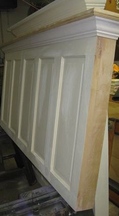 Door Headboard - edging finishing