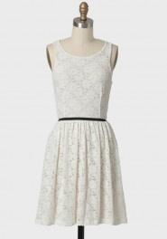 floral whisper lace dress
