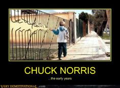 Chuck Norris – The early years. Laugh your self out with various memes that we collected around the internet. Chuck Norris Memes, Funny Photos, Funny Images, Demotivational Posters, I Love To Laugh, The Funny, I Laughed, The Best, Hilarious