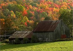 vermont landscapes | ... staff photographer David L. Ryan shot this photo of a barn in Vermont