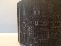 Liverpool print lampshade, Liverpool skyline, Liverpool Architecture by StudioPinnock on Etsy