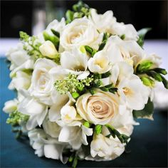 Kate & Mark's Real Wedding - Kate's Bridal Bouquet