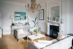 Neutral Drawing Room