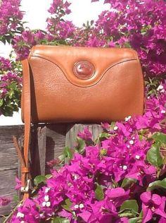 Vintage Dooney & Bourke AWL British Tan Everyday Crossbody VGC in Clothing, Shoes & Accessories, Women's Handbags & Bags, Handbags & Purses | eBay