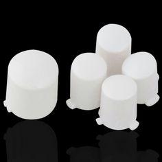 MODFREAKZ™ Xbox 360 ABXY and Guide Button Replacement Kit Polished White #xbox360 #guide #button #replacement