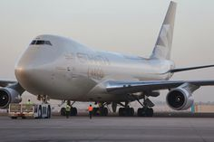 Etihad cargo 747