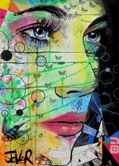 "Saatchi Art Artist Loui Jover; Drawing, ""when... SOLD"" #art"